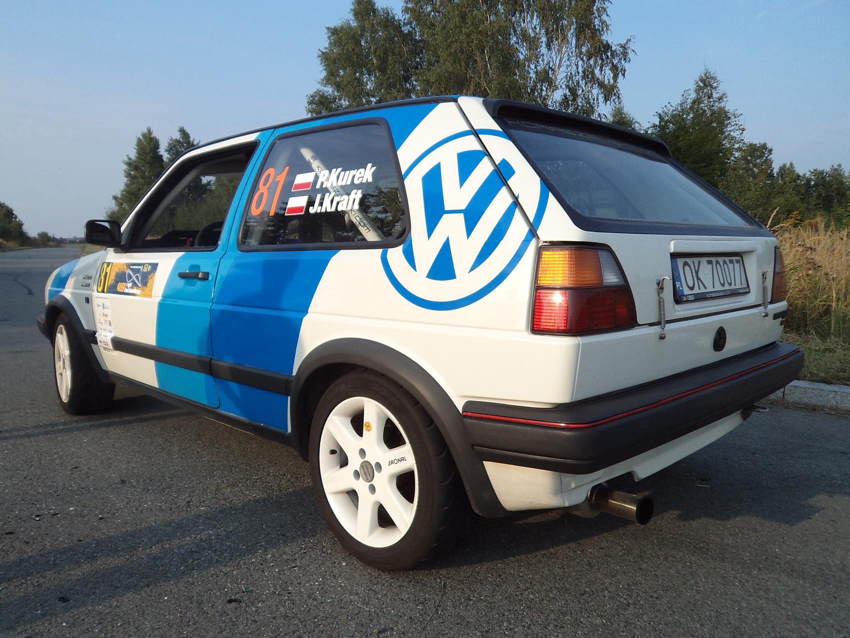 VW Golf 2 GTI Rally